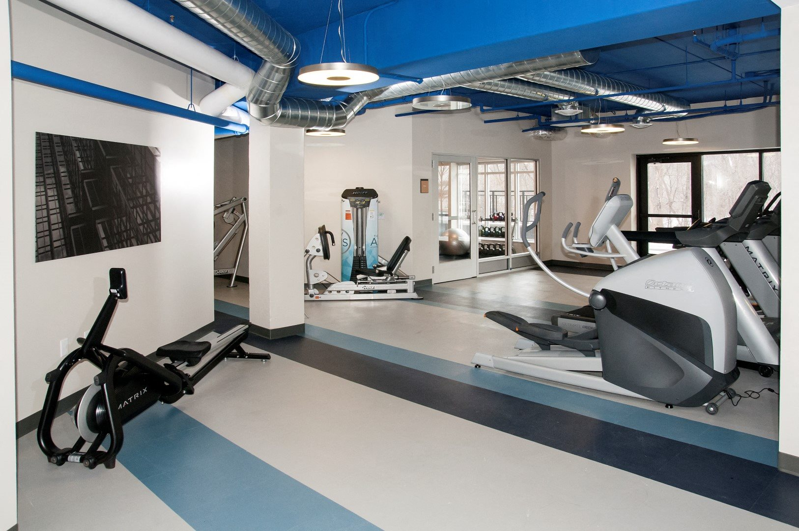 State-of-the-Art Fitness Center  with Modern Equipment at The Axis, Plymouth, MN, 55441